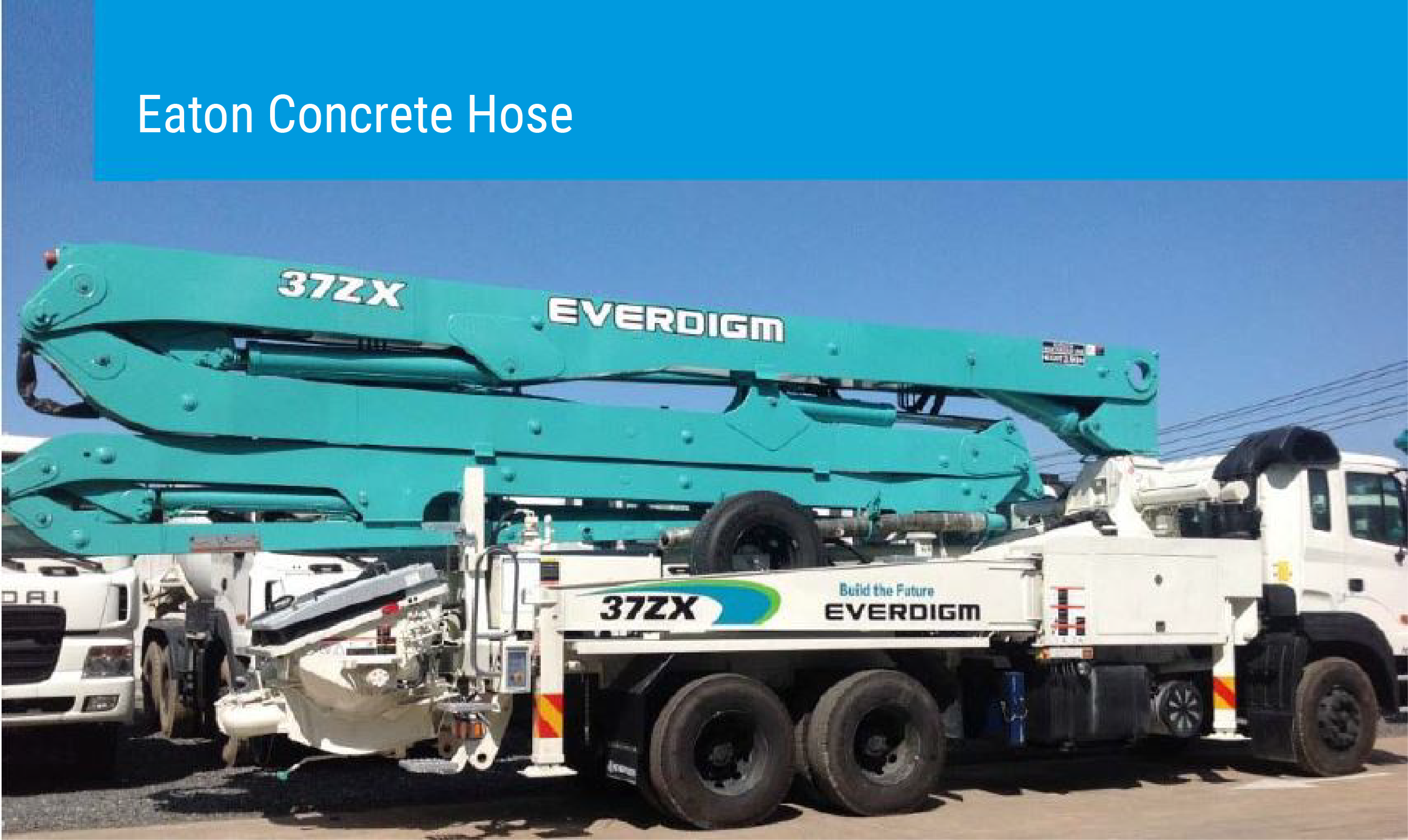 CONCRETE PUMPING HOSE FROM EATON